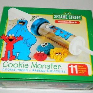 Hamilton Beach Sesame Street Monster Cookie Press